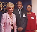 University of Maryland with former Dean Jesse Harris and Emily Boone